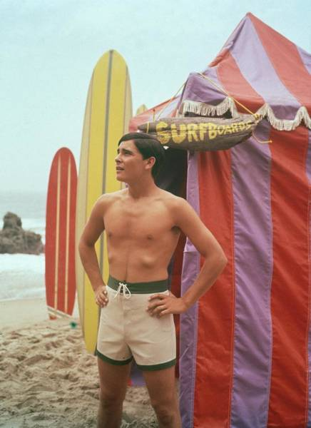 Photograph - Surfboards by Tom Kelley Archive