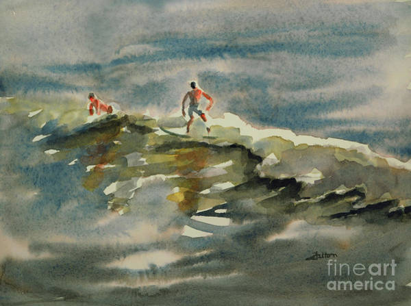 Painting - Surfer Boys 2 by Julianne Felton