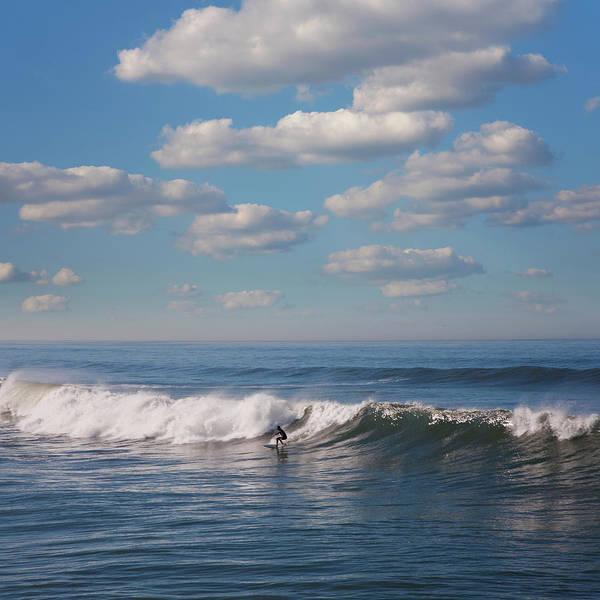 Photograph - Surfer Riding Big Wave by Maciej Toporowicz, Nyc