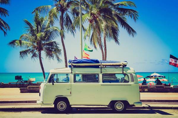 Photograph - Surfer Van by Top Wallpapers