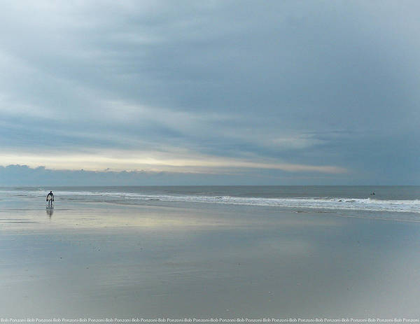 Wall Art - Photograph - Surfers On The North End by Robert Ponzoni
