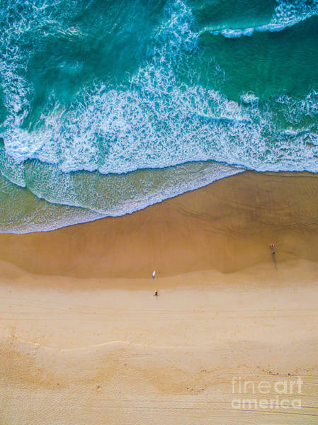 South Beach Wall Art - Photograph - Surfing Aerial by Taylor Wilson Smith