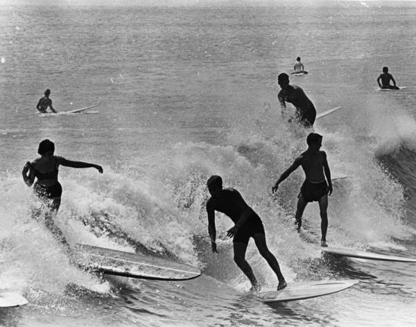 Equipment Photograph - Surfing Derby by Fox Photos