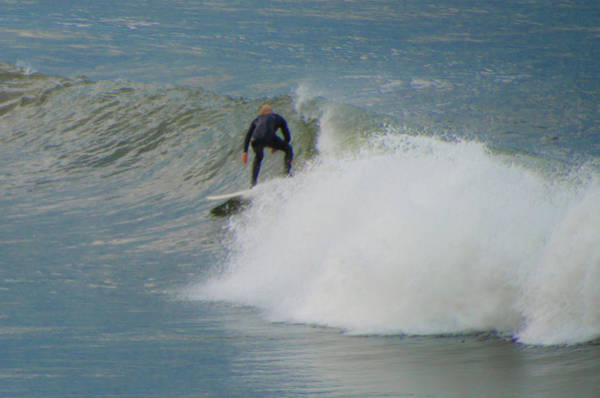 Photograph - Surfing In San Francisco by Bill Cannon