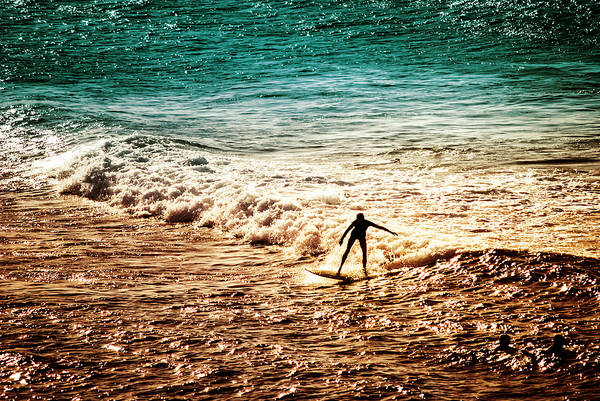 Photograph - Surfing Silhouette by Christi Kraft