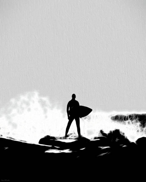 Digital Art - Surf's Up by Pennie McCracken