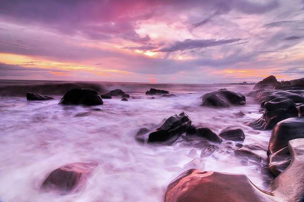 Taiwan Photograph - Surging Waves by Taiwan Nans0410