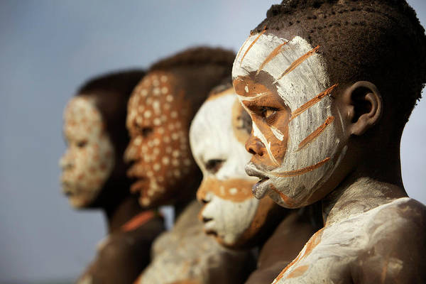 Real People Photograph - Surma, Suri Tribe, Omo Valley, Southern by Piper Mackay