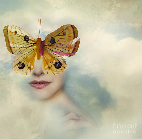 Wall Art - Photograph - Surreal Image Representing A Female by Valentina Photos