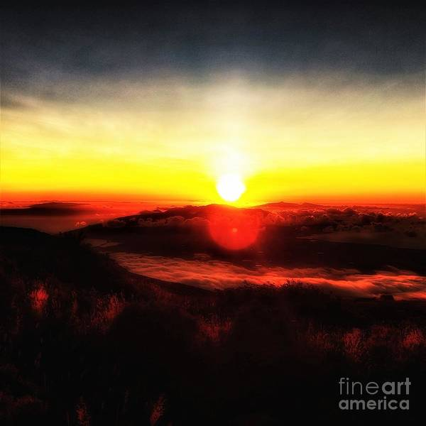 Photograph - Surreal Sunset  by Jacqueline McReynolds