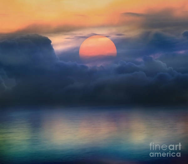 Wall Art - Photograph - Surreal Sunset by Maodoltee