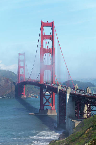 Wall Art - Photograph - Surreal View Of The Golden Gate Bridge by Stephanhoerold