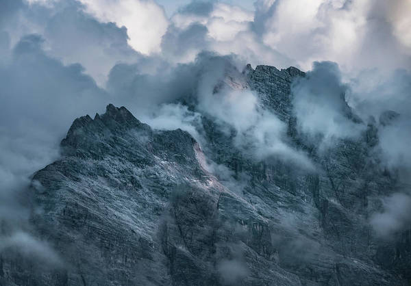 Wall Art - Photograph - Surrounded By Morning Clouds by Jaroslaw Blaminsky