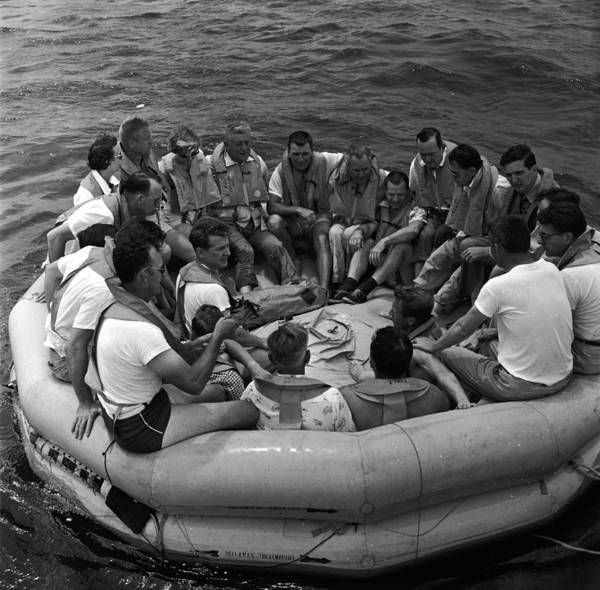 Lifeboat Photograph - Survival Training by Orlando