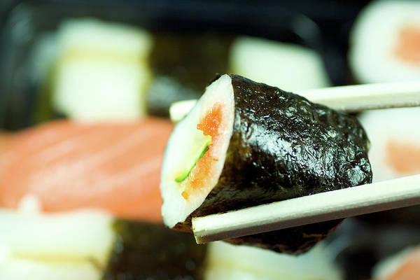 Japanese Culture Photograph - Sushi by Ra-photos