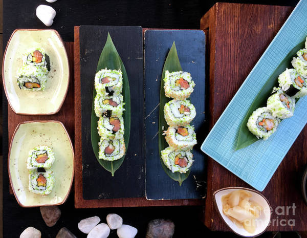 Wall Art - Photograph - Sushi Selection by Tom Gowanlock
