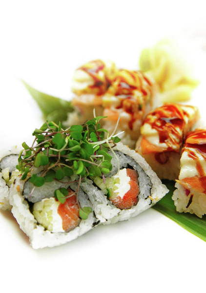 Wall Art - Photograph - Sushi by Thepalmer