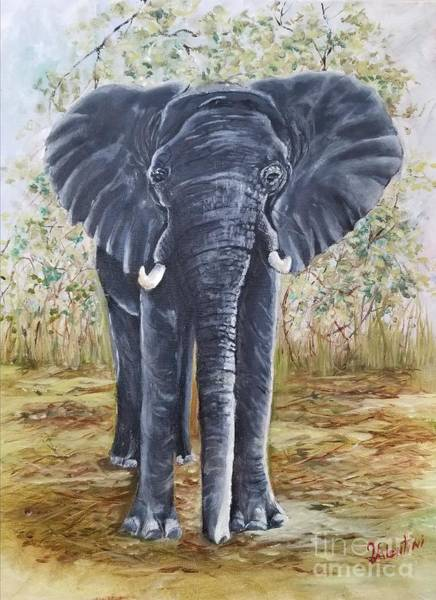 Wall Art - Painting - Susie's Safari 2 by Sandra Valentini