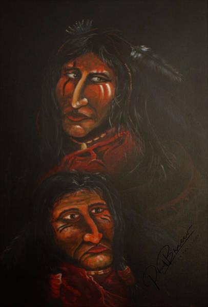 Painting - Suspicion by Philip Bracco