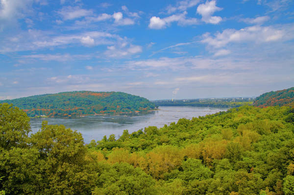Photograph - Susquehanna River In Autumn by Bill Cannon