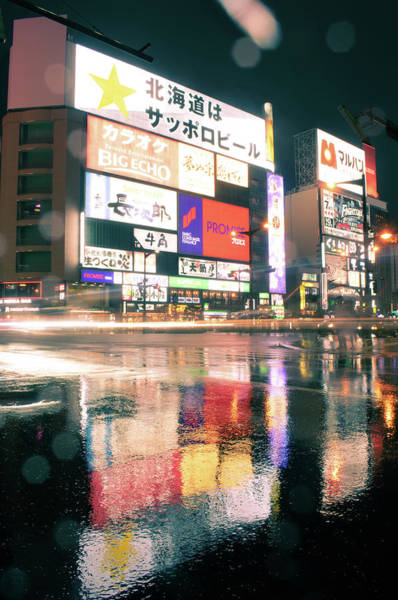 Blade Runner Photograph - Susukino Crossing 2 by Martin Capek