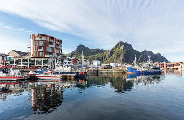 Maria Island Wall Art - Photograph - Svolvær, The Capital Of Lofoten, Norway by Maria Swärd