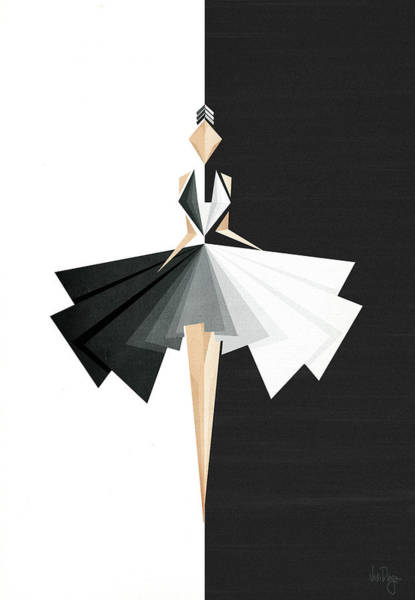 Fashion Digital Art - Swan Lake by Vess DSign