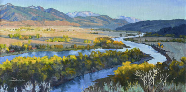 Painting - Swan Valley by Jan Christiansen