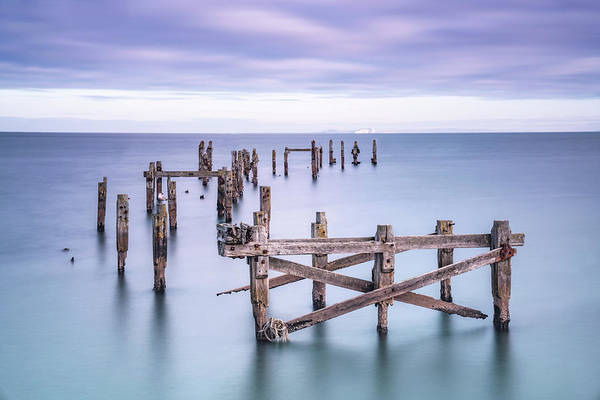 Photograph - Swanage Old Pier by Framing Places