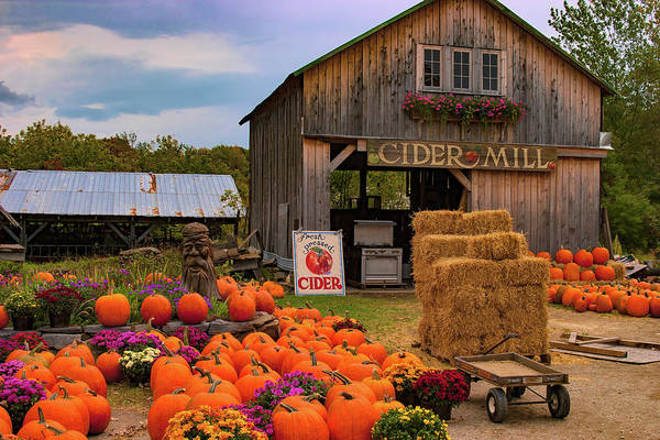 Photograph - Swanton Vermont Farmstand by Jeff Folger