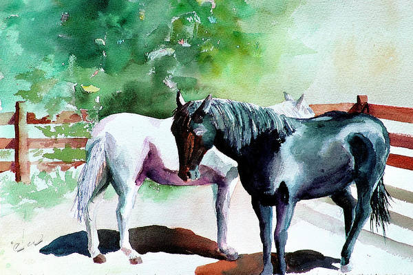Painting - Swatting Flies by Connie Williams