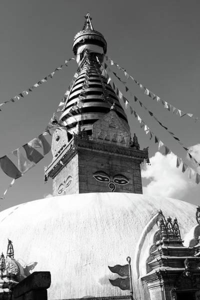 Photograph - Swayambhunath Buddhist Temple, Kathmandu by Aidan Moran