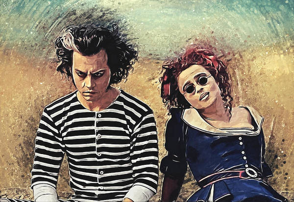 Wall Art - Digital Art - Sweeney Todd And Mrs. Lovett by Zapista Zapista