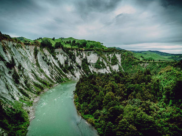 Photograph - sweeping NZ vista by Nisah Cheatham