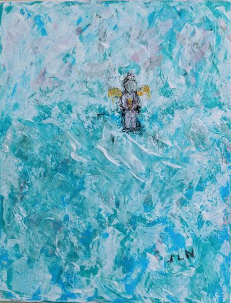 Painting - Sweet Angelbaby by Jennifer Nease