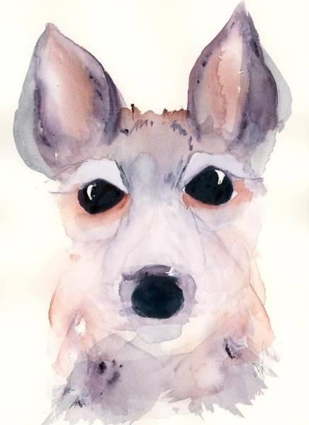 Painting - Sweet Deer by Dawn Derman