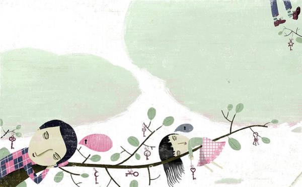 Full Length Digital Art - Sweet Dreams by Luciano Lozano