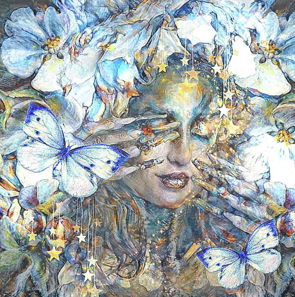 Wonderful Mixed Media - Sweet Dreams Sylvia by G Berry