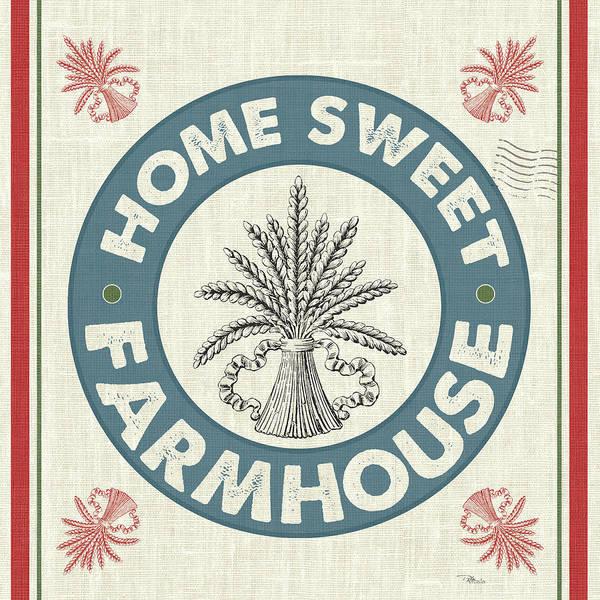Burlap Painting - Sweet Farmhouse I No 100 by Pela Studio