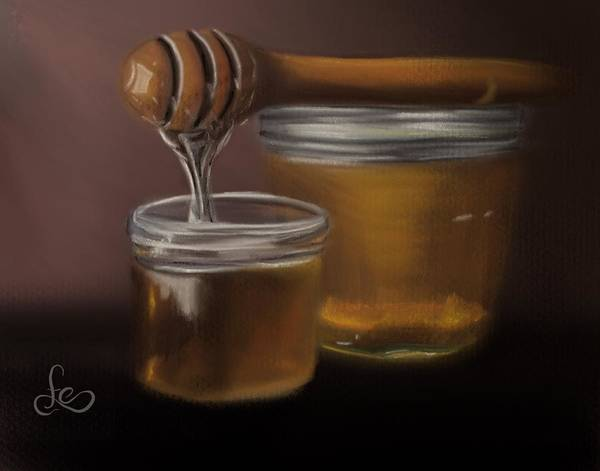 Painting - Sweet Honey by Fe Jones