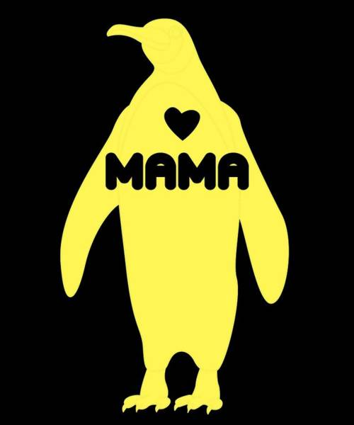 Pregnancy Mixed Media - Sweet Mama Love Tshirt Design by Roland Andres