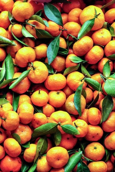 Eating Photograph - Sweet Oranges by Gabriel Perez