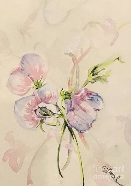 Painting - Sweet Pea I by Laurel Adams