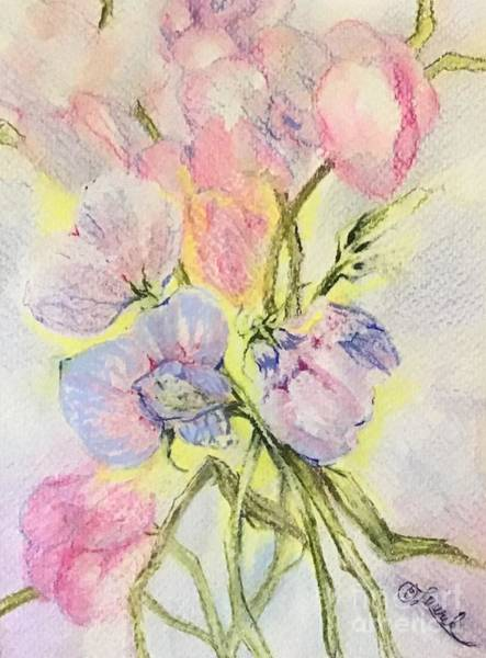Painting - Sweet Pea II by Laurel Adams