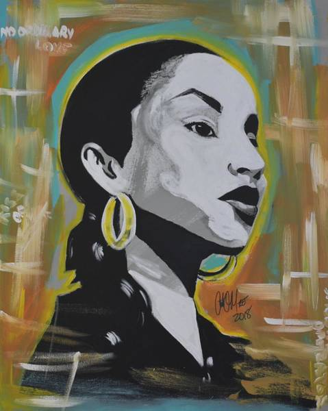 Painting - Sweet Sade by Antonio Moore