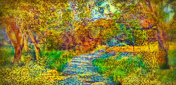 Digital Art - Sweet Spring Path by Joel Bruce Wallach