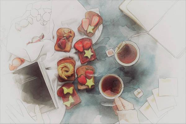 Research Painting - Sweet Tea by ArtMarketJapan