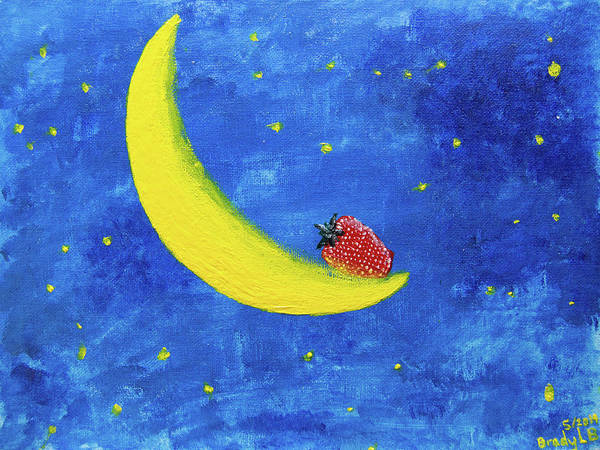 Wall Art - Painting - Sweet Things Among The Stars by Brady Burgener