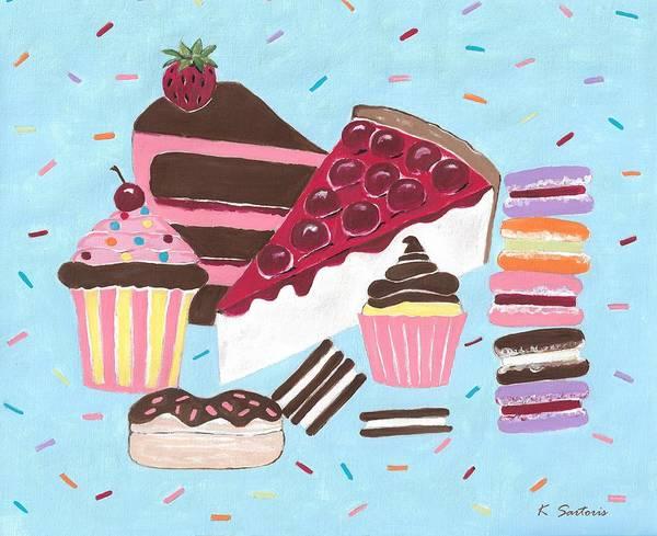 Wall Art - Painting - Sweet Tooth by Kathleen Sartoris