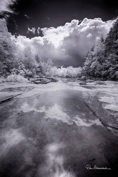 Photograph - Swift River 7297 by Dan Beauvais